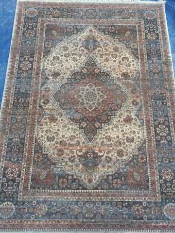 Brown Polyester Area Rug Made in Turkey - Intl. Rug Depot