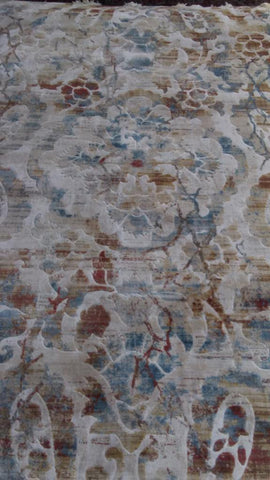 Off-White Art Silk Viscose Area Rug Made in Turkey - Intl. Rug Depot
