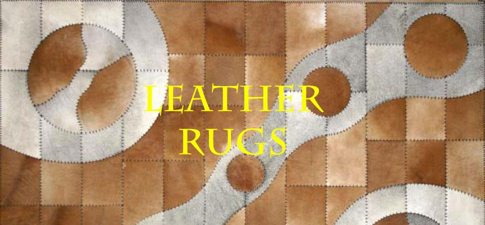 Leather Rugs and Cowhides