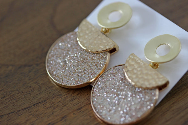 Dazzle Drops in Gold