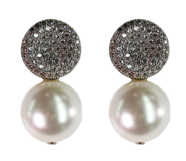 Stardust and White Pearl Drops