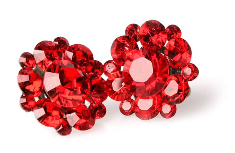 Clip-On Stud Cluster in Red