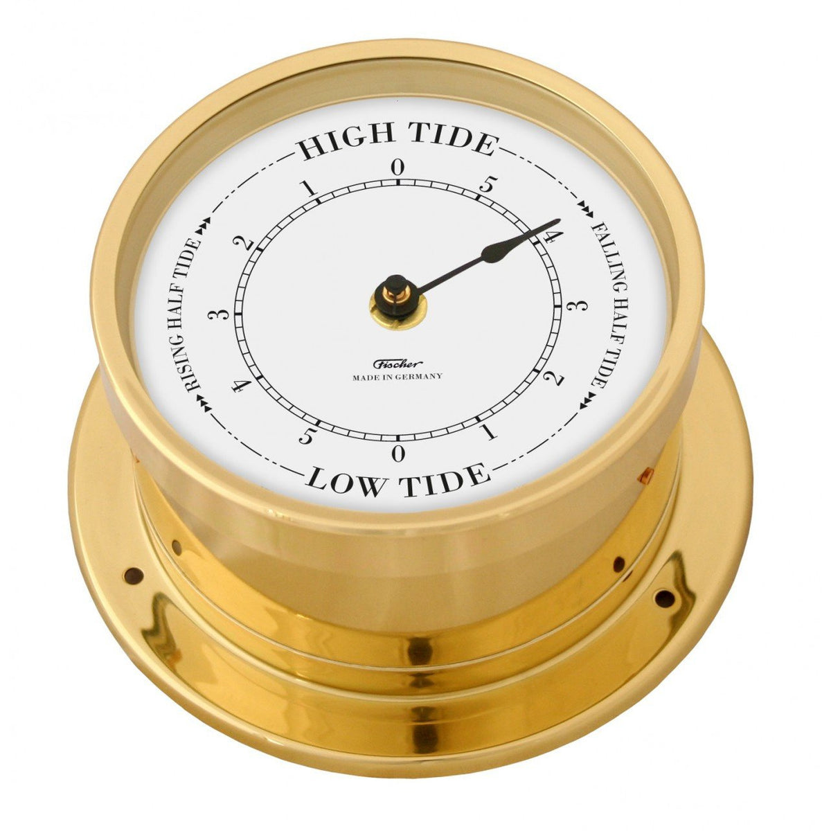 Precision Brass Marine Tide Clock 103 PMTD