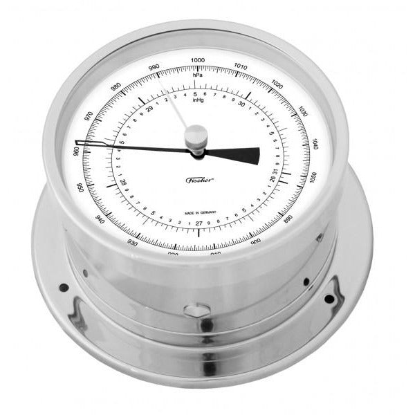 Precision Chrome Aneriod Barometer