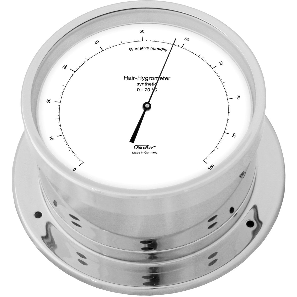 Precision Chrome Hygrometer