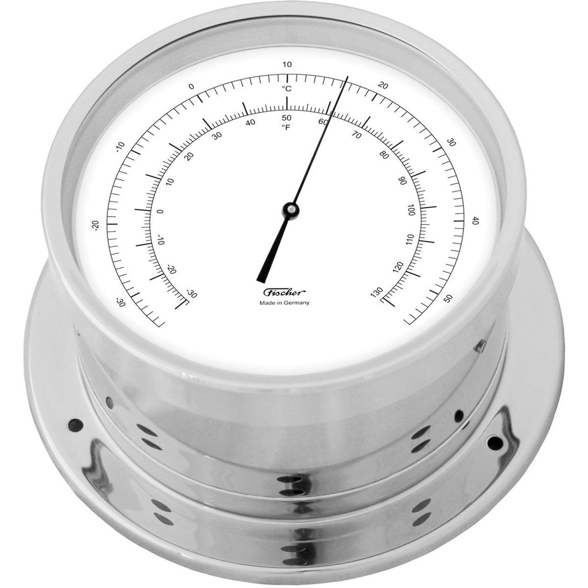 Precision Chrome Thermometer