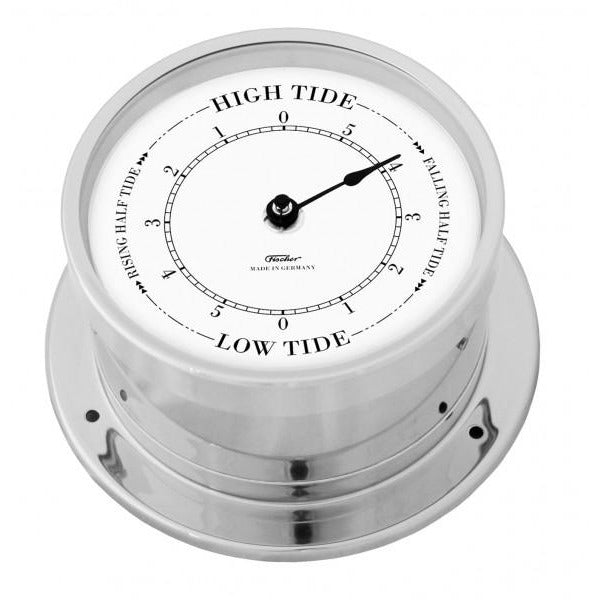 Precision Chrome Marine Tide Clock