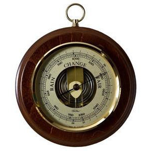 Walnut Barometer 1436-12