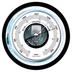Stylish Black and Chrome Barometer 1434B-06