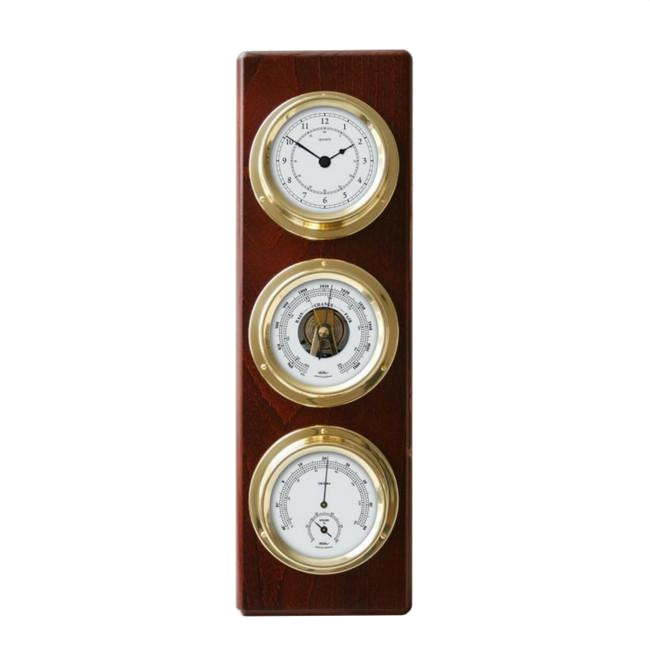 Stylish modern Mahogany Weather station
