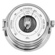 Marine Chrome Barometer Made By Fischer 1605B-47
