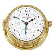 Solid Marine Brass Tide Clock 1605GU-45