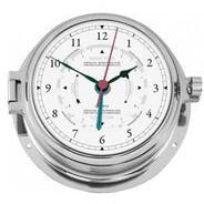 Marine Chrome Tide Clock 1605GU-47