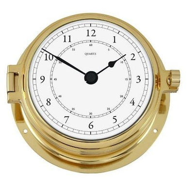 Solid Brass Marine Clock