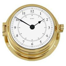 Solid Brass Marine Clock 1605U-45