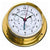 Nautical Polished Brass Tide Clock 1610GU-45