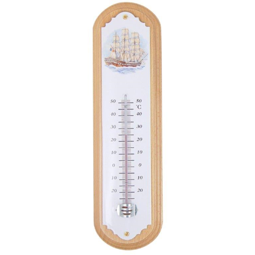 Large Stick Thermometer on Wood