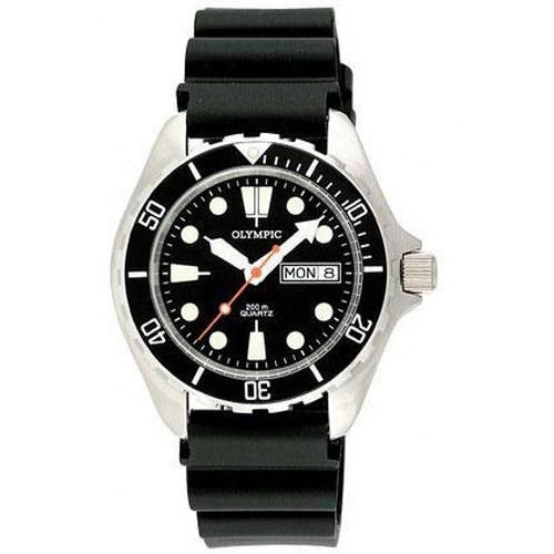 200m Divers Steel Watch - Black