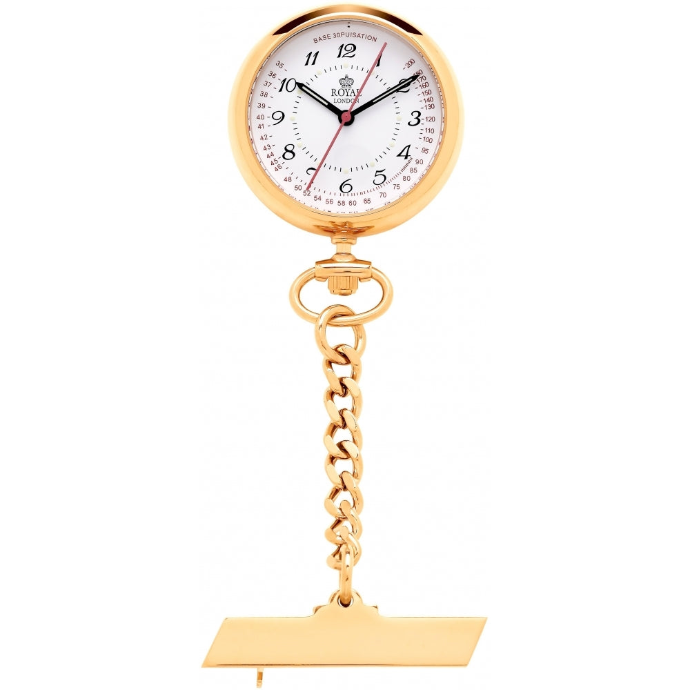 Gold Nurses Watch