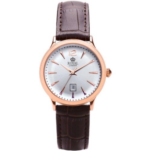 Royal London ladies Rose gold Dress Watch