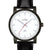 Unisex Black & Silver watch from Olympic 25104bk