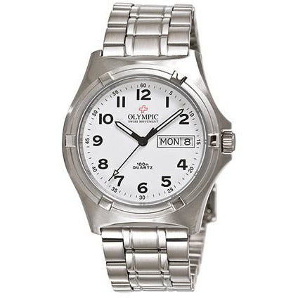 Stainless Steel Tough Olympic WORKWATCH 28066S