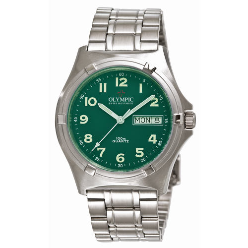 Men's Olympic Work Watch - Racing Green