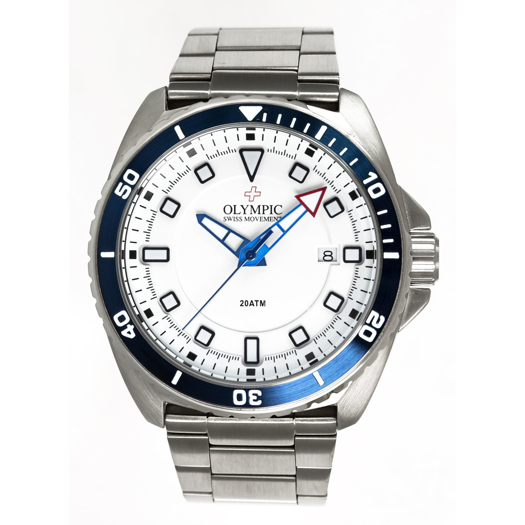 divers watch, stainless steel watch, mens watch