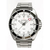 Olympic 200m Divers Steel Strap Watch - Black edged dial