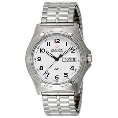 Stainless Steel Olympic WORKWATCH 29066ES