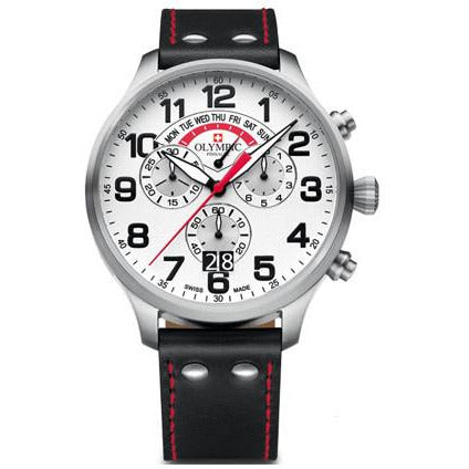 Swiss Made Chronograph By Olympic Watches 29089