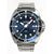 Olympic 200m Divers Steel Strap Watch - Classic Blue