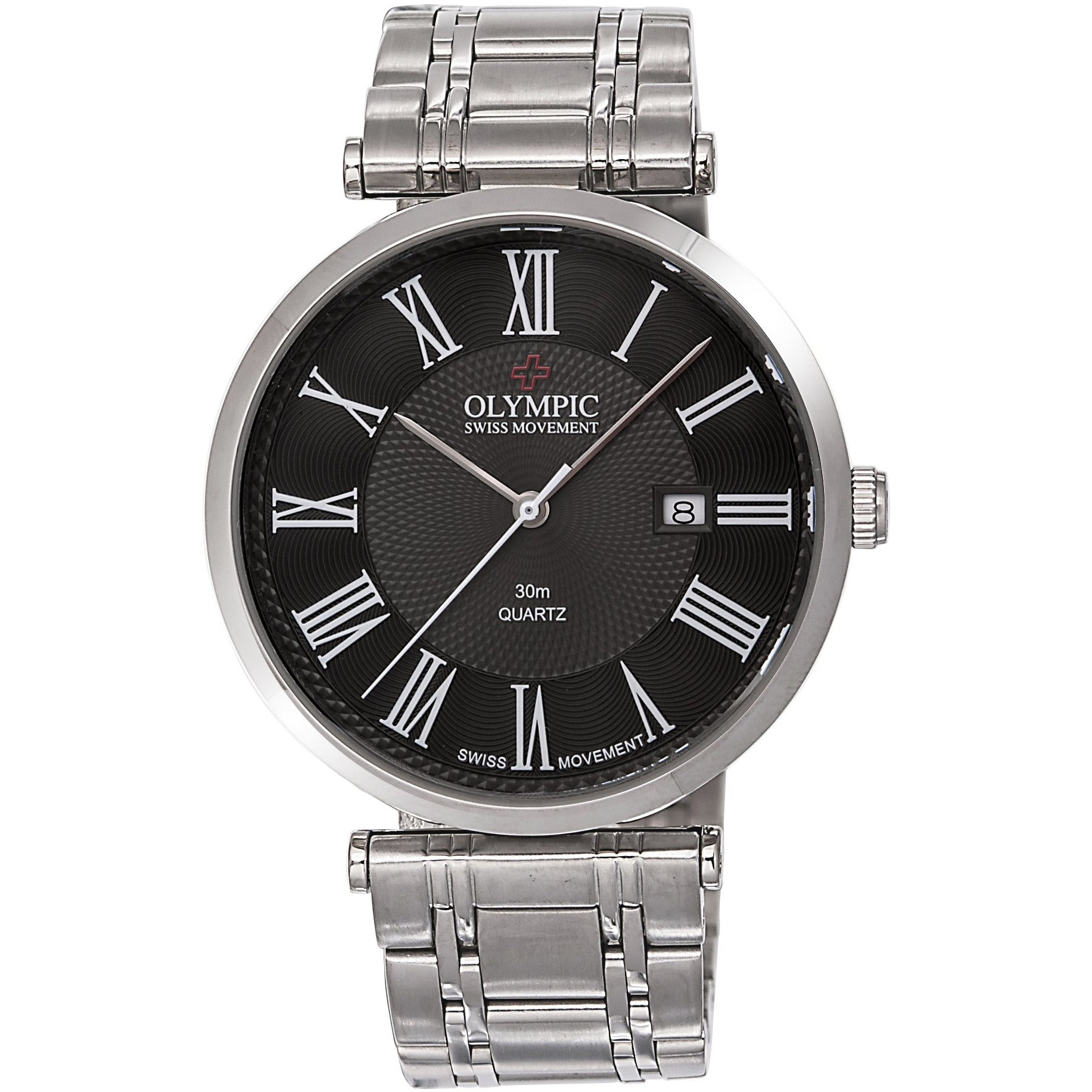 Genuine stainless steel dress watch