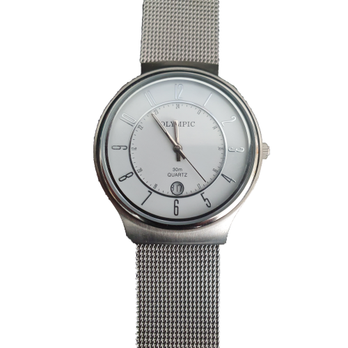 Silver Watch by Olympic