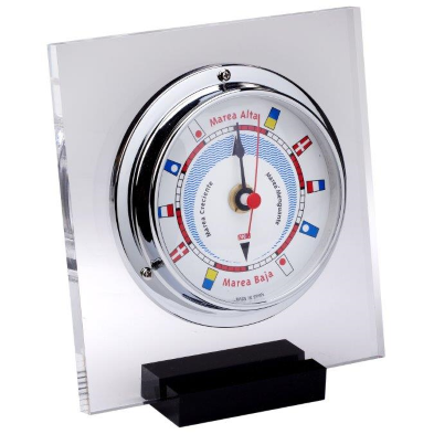 Chrome Table top Tide Clock