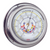 Chrome Barometer