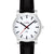 bauen ladies watch with bold black hands 78100bk