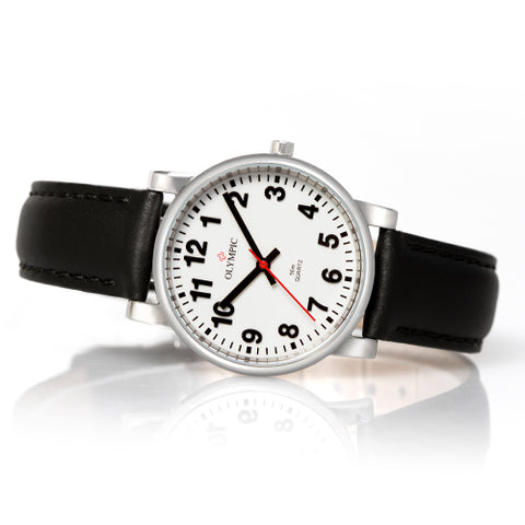 Ladies  steel watch from Olympic swiss watches