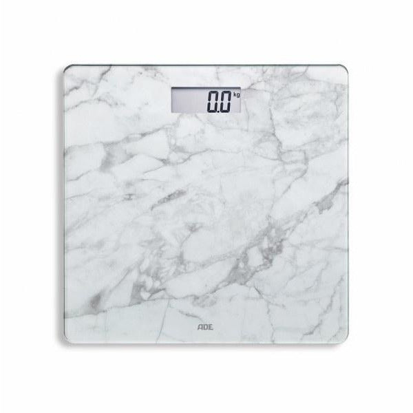 Trendy  Marble White Bathroom Scale
