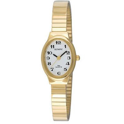 Easy to Read Ladies Gold Classic 72162
