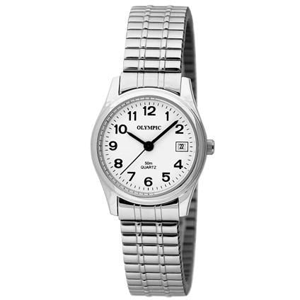 Easy To Read Ladies Silver Classic 78034