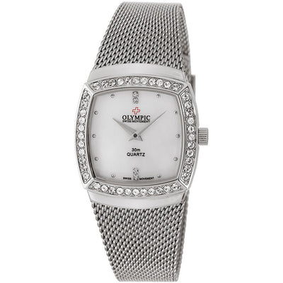 Genuine Swiss Made Silver Classic by Olympic Watches 78347