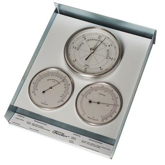 Square Stainless Out door Weather station