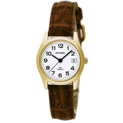 Ladies Leather Classic Watch