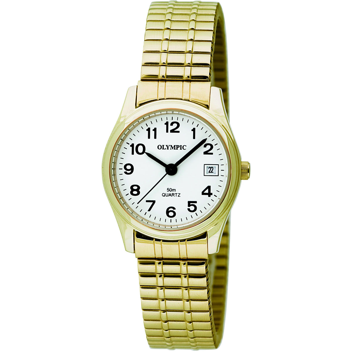 Ladies Gold Classic Watch