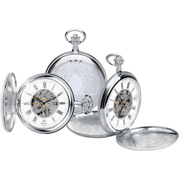 Silver Pocket Watch with silver pocket watch stand