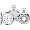 Unisex Silver Half Hunter Pocket Watch  90008.01