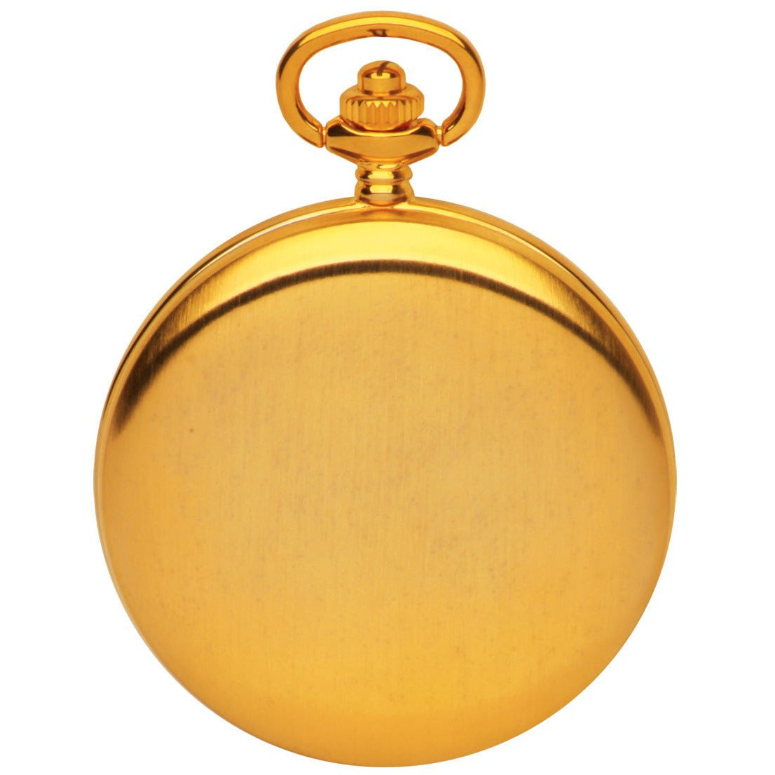 Half Hunter Gold Pocket Watch By Royal London 90008.02