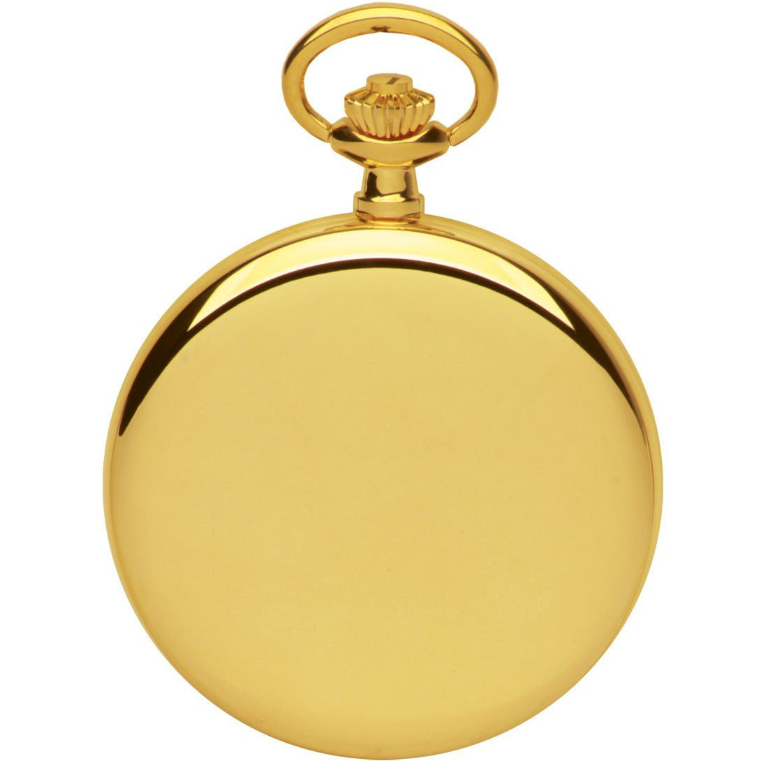 Gold Pocket Watch By Royal London 90013-02