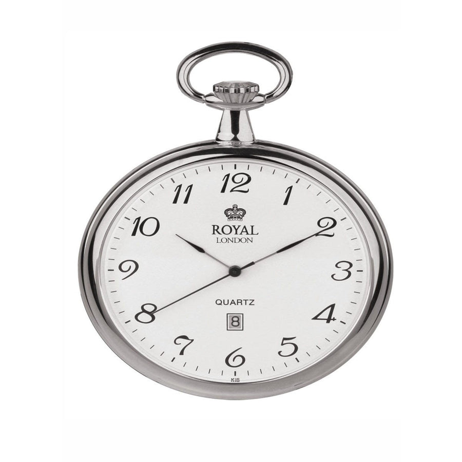 Silver Pocket Watch Royal London